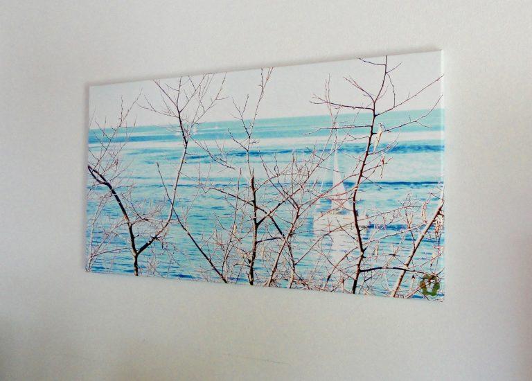 Canvas auf Keilrahmen 140 x 70 (Panorama)